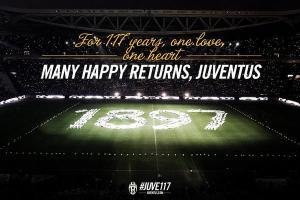 tanti auguri Juventus